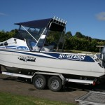 Surtees Sport Fisher bimini